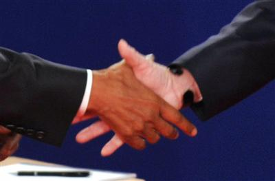Withholding a handshake is a direct violation.