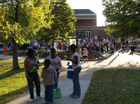 Crowds gather for G.H.O.S.T. at APSU