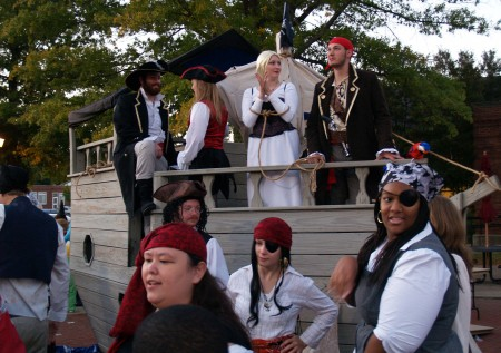 Ahoy Mateys! SGA took home first place for their pirate playhouse again this year.