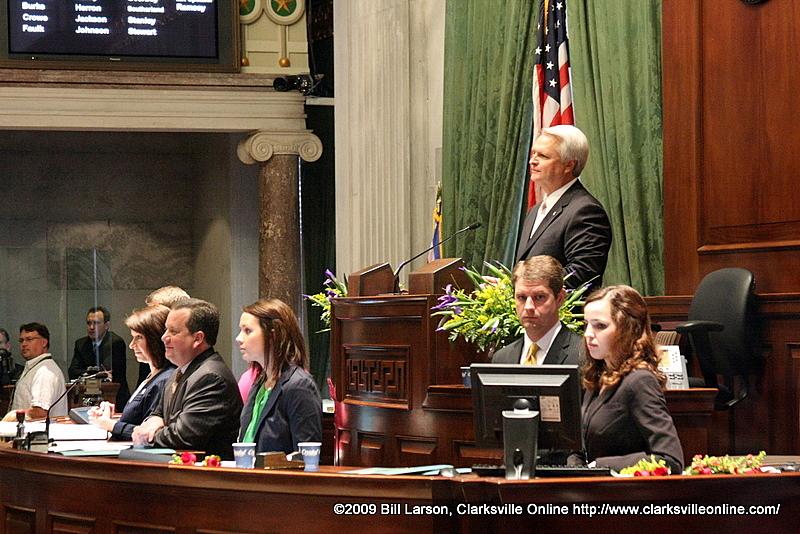Lt. Governor Ron Ramsey calls 106th TN Senate into session
