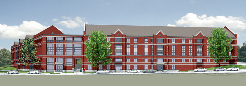 The new residence hall planned for APSU