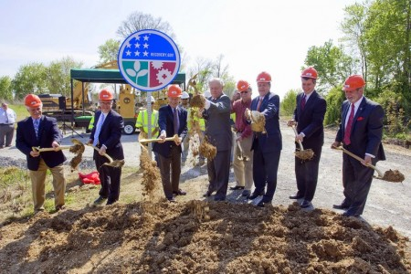 TDOT Recovery Act Groundbreaking