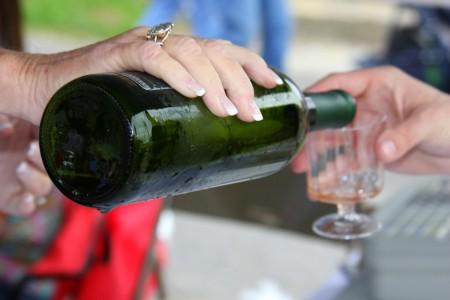 Clarksville for Obama wine tasting
