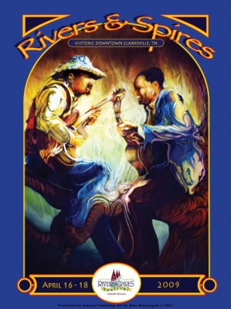 2009 Rivers and Spires Poster