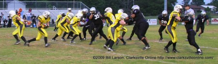Clarksville Fox Women's Full Contact Football team