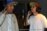 Sir Virtue and Lazarus in the studio