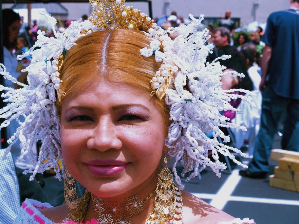 Panamanian Folk Ballet dancer