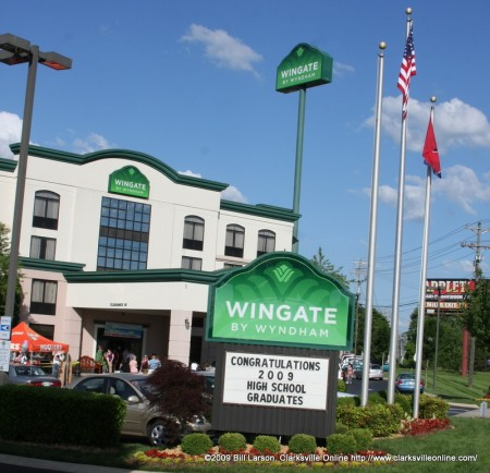 The Wingate by Wyndham is celebrating their 11th anniversary in Clarksville