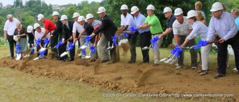 The Marina Groundbreaking