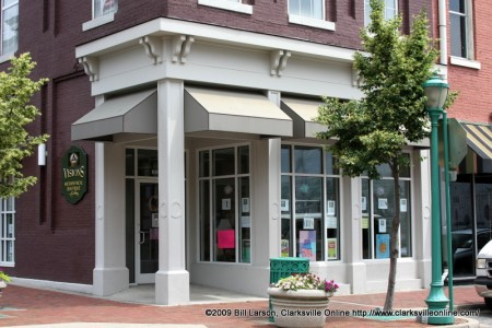 Visions Metaphysical Boutique is at the corner of Franklin Street and South Third Street