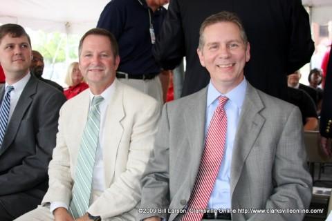 State Senator Tim Barnes and State Representative Joe Pitts