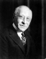 Chicago philanthropist Julius Rosenwald, CEO of Sears, Roebuck and Company