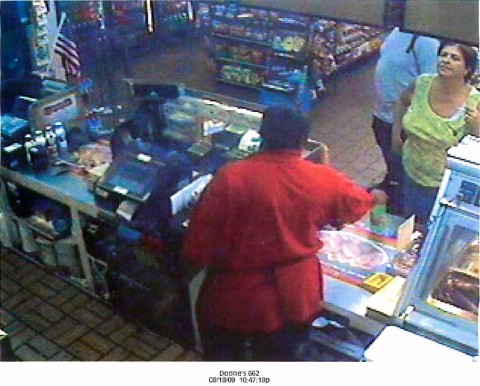 If anyone knows the woman in the in the photo, please call Officer Bob Peterson, 931-648-0656, ext. 7270, or the TIPSLINE, 931-645-8477