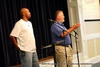 Builders Bert Singletary and Don Duncan