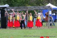 Members of the Hawaii O Tenesi Hawaiian Civic Club