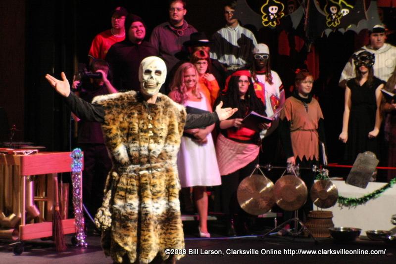 The 2008 Percussion Ensemble Halloween Concert