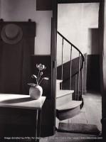 """Chez Mondrian, 1926, Gelatin silver print, 9.5 x 7"""" taken by Andre Kertész"""