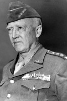 General George S. Patton, Jr. CG, U.S. Third Army courtesy the Black Archives