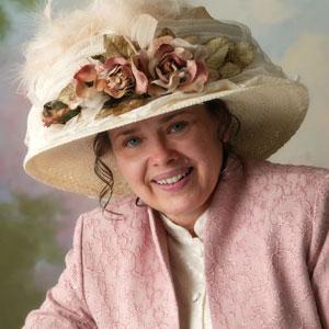 Author and publisher Linda Hawkins.