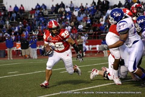 APSU Running Back Ryan White