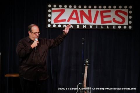 Hank Bonecutter at Zanies in Nashville