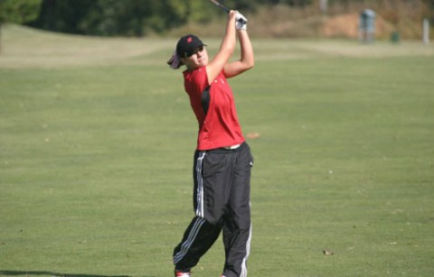Senior Angelina Manzitto led the Lady Govs with a second-round 79, Tuesday, at the UAB Fall Beach Blast (Courtesy: Austin Peay Sports Information)