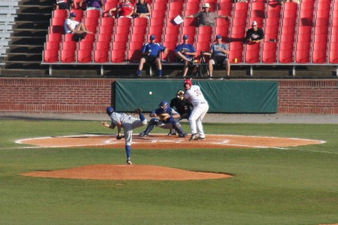 An APSU Baseball Game from 2008