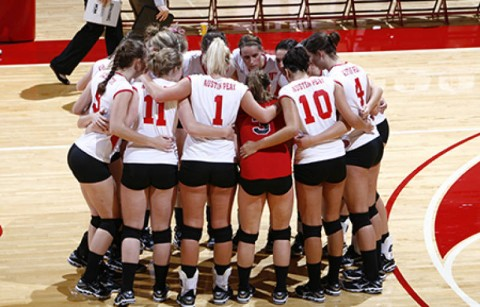 Austin Peay wraps up the 2009 regular-season with a pair of Ohio Valley Conference matches this weekend. (Courtesy: Lois Jones/Austin Peay)