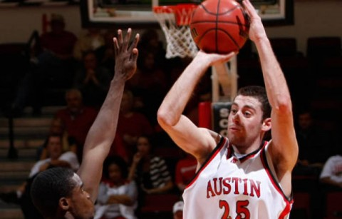Anthony Campbell scored a career-high 23 points in APSU's loss to Drake (Robert Smith/The Leaf-Chronicle)