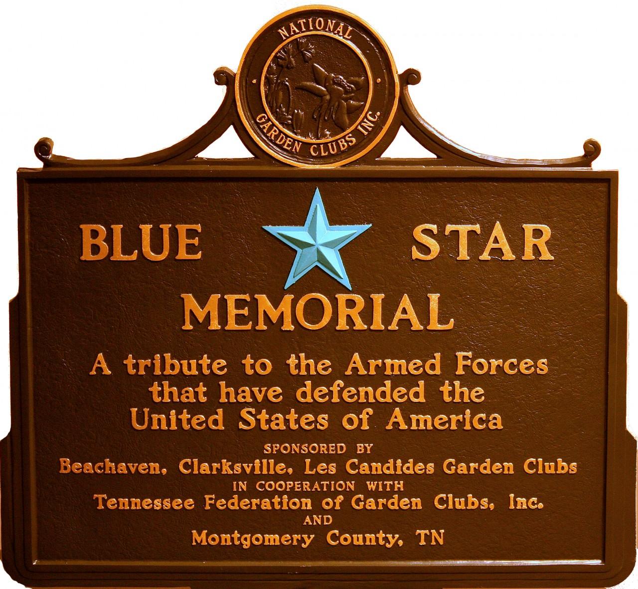 Blue Star Memorial marker dedication Monday - Clarksville, TN Online