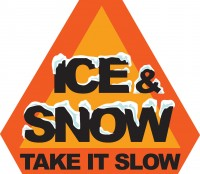Ice and Snow means Take it Slow