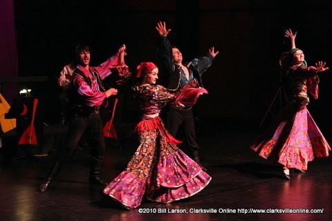 The Massenkoff Russian Folk Festival dancers