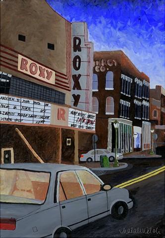 The Roxy by Natalie Jo Welch (28x40, $375.00)