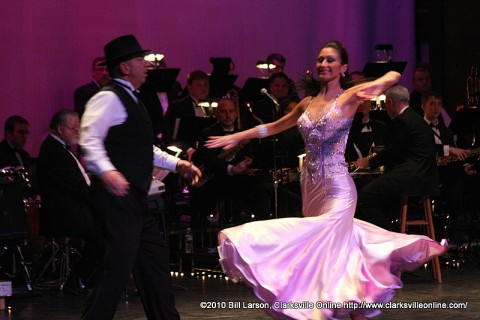 Ted Crozier, Jr and Selena Morano at the 2010 Dancing with the Stars