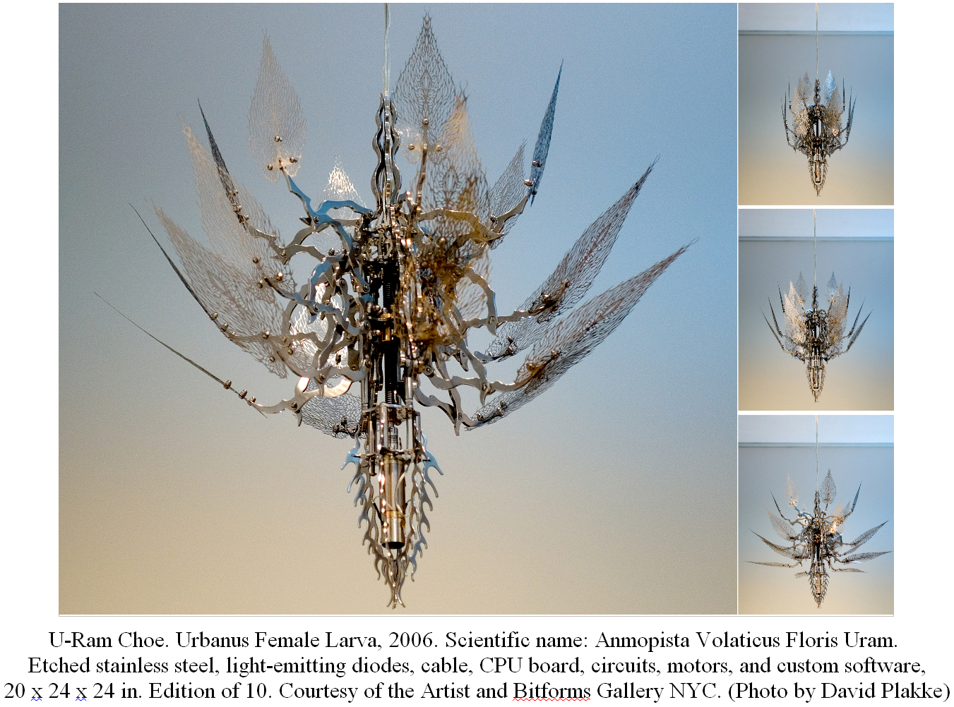 Gas Prices In Tennessee >> Contemporary kinetic sculpture of Korean artist U-Ram Choe ...