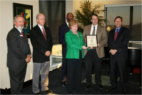 Business Facilities Magazine's Award Presentation