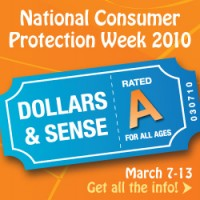 National Consumer Protection Week 2010