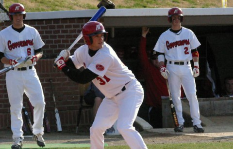 Senior Adam Browett had two hits in the Govs loss at Belmont, Wednesday night. (Austin Peay Sports Information)