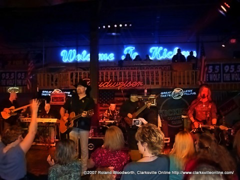 Confederate Railroad at Kickers Country Club in October 2007 (Roland Woodworth)