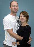 Heath Calhoun and his wife