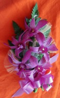 Large Purple Cattleya Orchid Corsage
