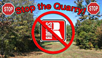 The Logo of the Stop the Quarry group