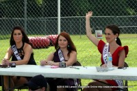 The Judges Miss Mt. Juliet Macy Payne, Miss Clarksville International Samantha Maselli, and Mrs. Tennessee International Cydney Miller