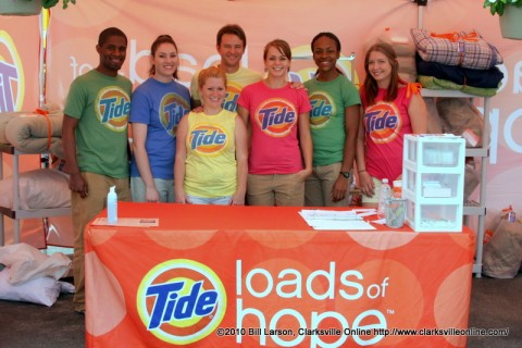 Tide Loads of Hope workers