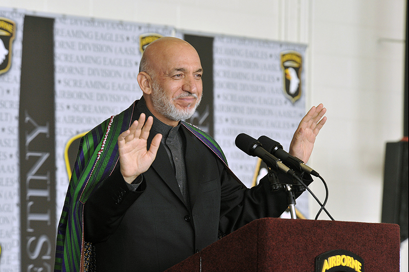 Afghan President visits Fort Campbell : Discover Clarksville TN