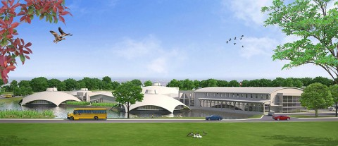 Architect Rendering of MCHS Design