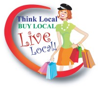 Think Local, Buy Local, Live Local! (Ad One Advertising)