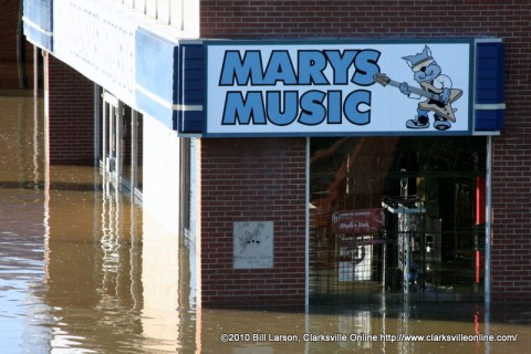 Mary's Music during the Great Flood of 2010