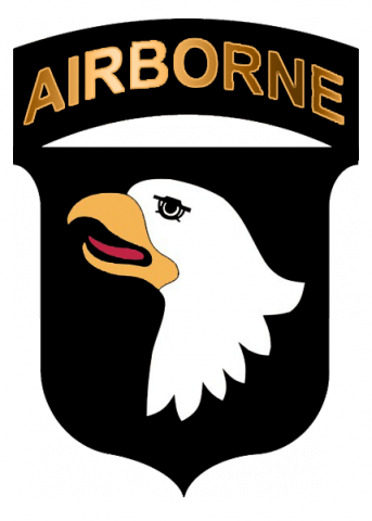 Fort Campbell KY, 101st Airborne Division Patch