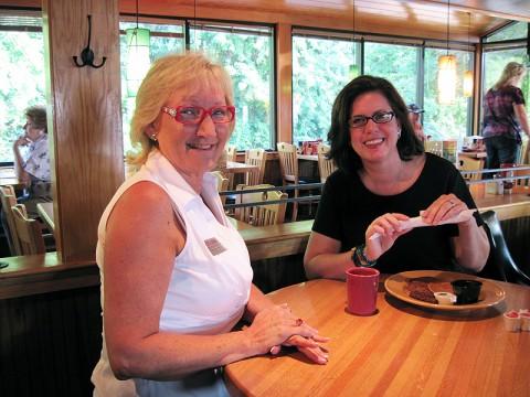 Crye-Leike Clarksville/St. Bethlehem Branch Managing Broker Kimberly Newlove and her client Lisa Blodgett